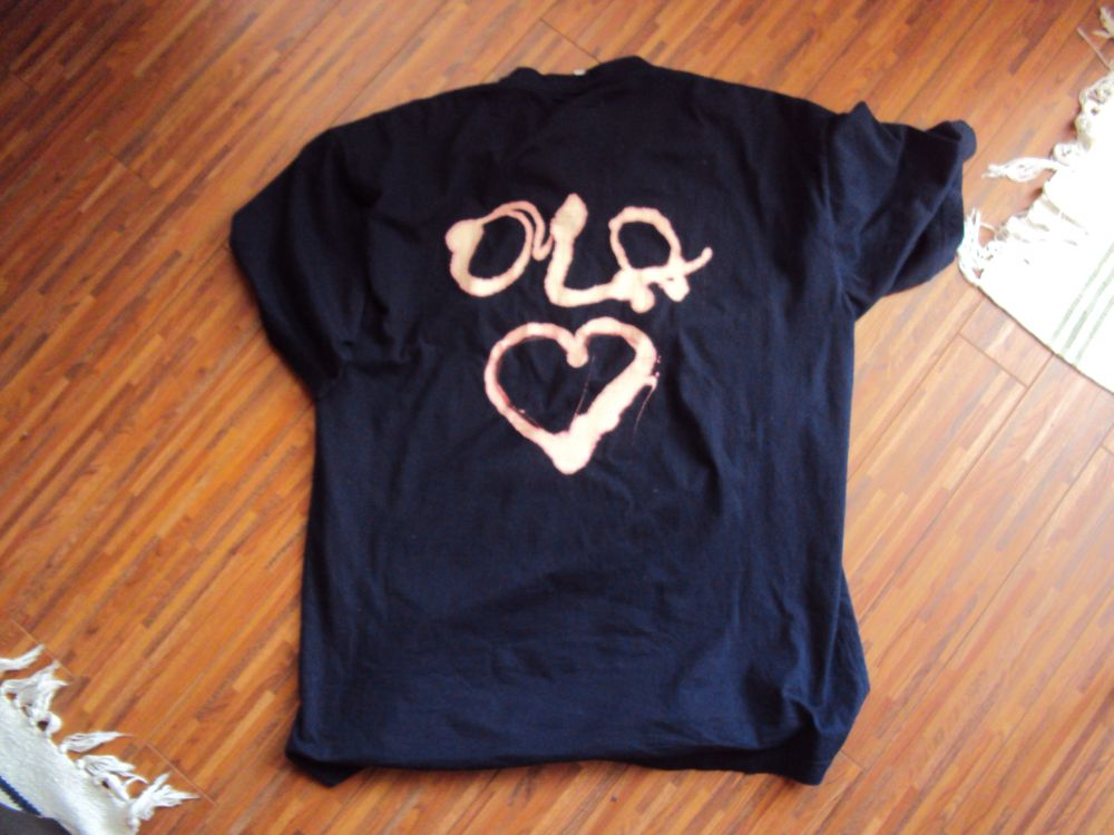Koszulka z serduszkiem Ola