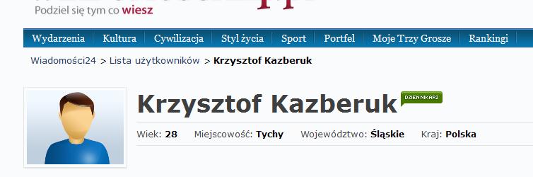screen profilu autora w24.pl